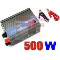 Inversor Transformador Conversor Veicular 450w 12v ~110 +usb