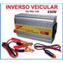 Adaptador Veicular De Tomada Pra Carro 12v Para 110v 450w