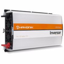 Inversor 2000w Conversor 12v Para 110 127 - Hayonik