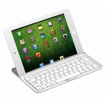 Teclado Ipad Mini Bluetooth 3.0 Alumínio Sem Fio Apple Frete