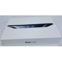 Ipad Mini Cellular-wifi - 32 Gigas - 4g - Preto - Novo