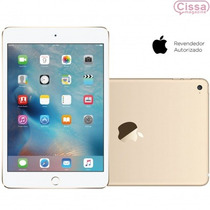 Tablet Apple Ipad Mini 4 Wi-fi 4g 128gb Dourado Original