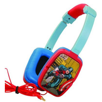 Headphones Captain America Marvel Retro 100% Original