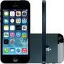 Iphone 5 64gb Bom Preto Seminovo Completo Com Garantia E Nf