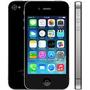 Iphone 4s 16gb Preto Excelente Completo Com Garantia E Nf