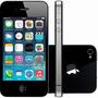 Iphone 4s 8gb Preto Com Caixa E Acessórios Originais.