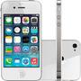 Imperdível! Apple Iphone 4 32gb Branco Seminovo Com Brinde