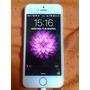 Iphone 5s Prata- Apple Com 5 Capinhas