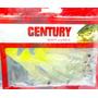 Isca Camarão Soft Artificial Para Pesca Luminoso 9,5cm 5unid