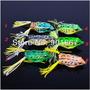 Isca Artificial Sapo Frog 6 Cores 1° Linha