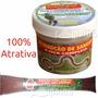 Kit Isca Pesca Bastao Puro Sangue + Minhocão 100% Atrativo