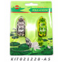 Isca Artificial Sapo De Silicone Falcon Antienrosco Kit C/2
