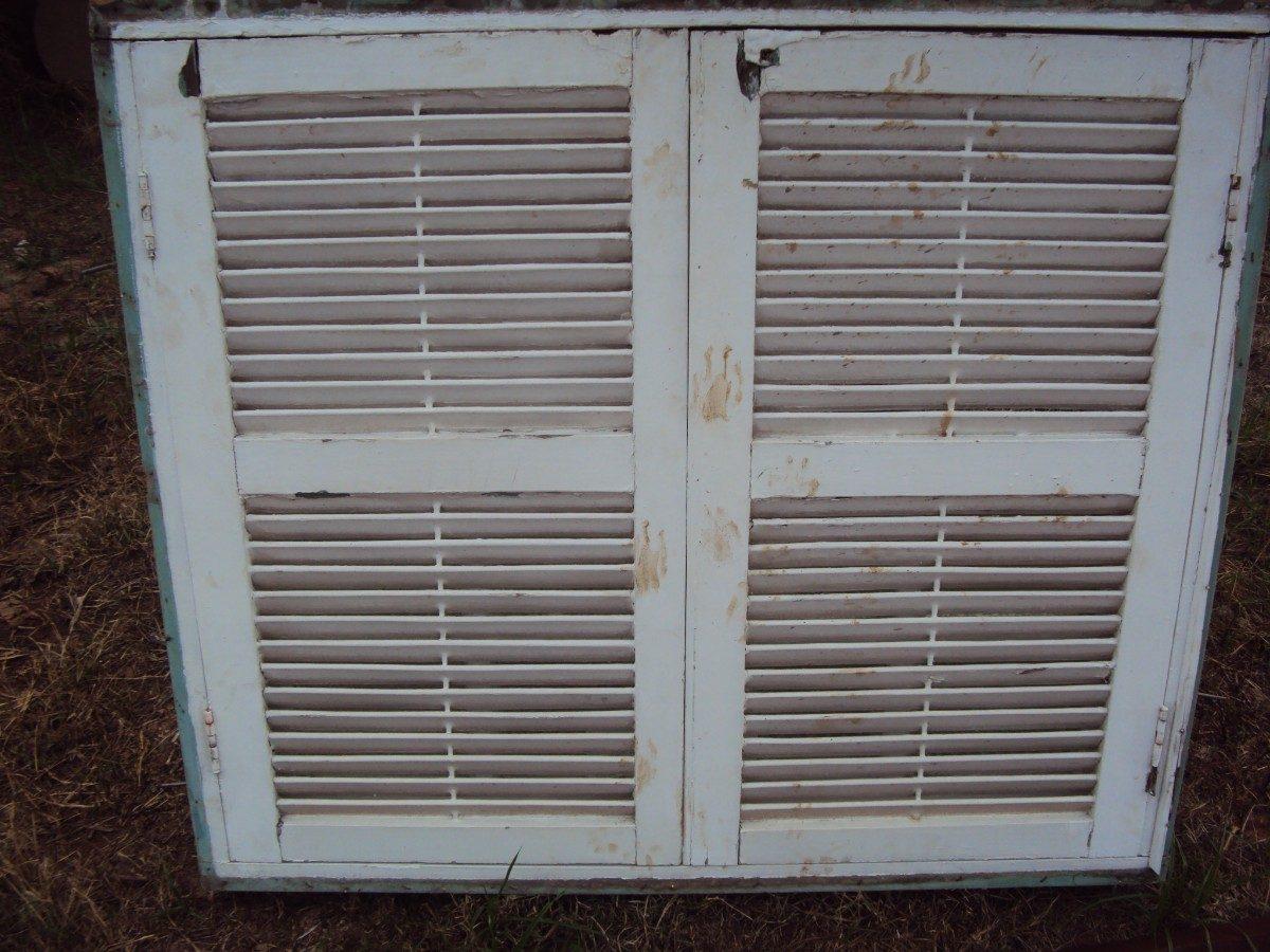 #302423 Janela Antiga Em Madeira Maci A Com Vidro E Veneziana Pictures to pin  28 Janelas De Vidro Com Venezianas