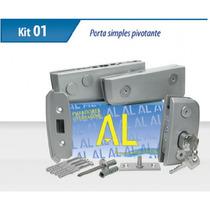 Kit 01 Fosco Para Porta De Vidro Temperado Marca Al