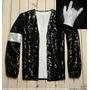 Jaqueta Michael Jackson Billie Jean + Luva Frete Grátis