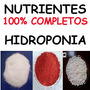 1000 Litros Nutrientes Hidroponia Fertilizante Adubo Plantas