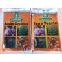 Terra Vegetal E Adubo Orgânico, 5 Pacotes Cada, Frete Gratis