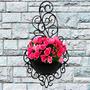 20 Vasos Arandela Plantas Suspenso Vertical Decorativo Horta