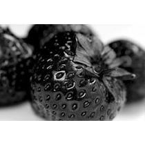 10 Sementes Morango Preto Negro Raro + Frete Grátis