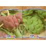 Kit Alcachofra - Alcachofra Violeta E Verde #aid6