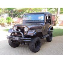 Jeep Willys - Placa Preta