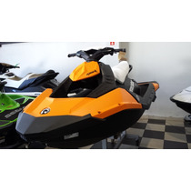 Jet Ski Brp Sea-doo Spark 3up Ibr 90hp 2015 - Novo