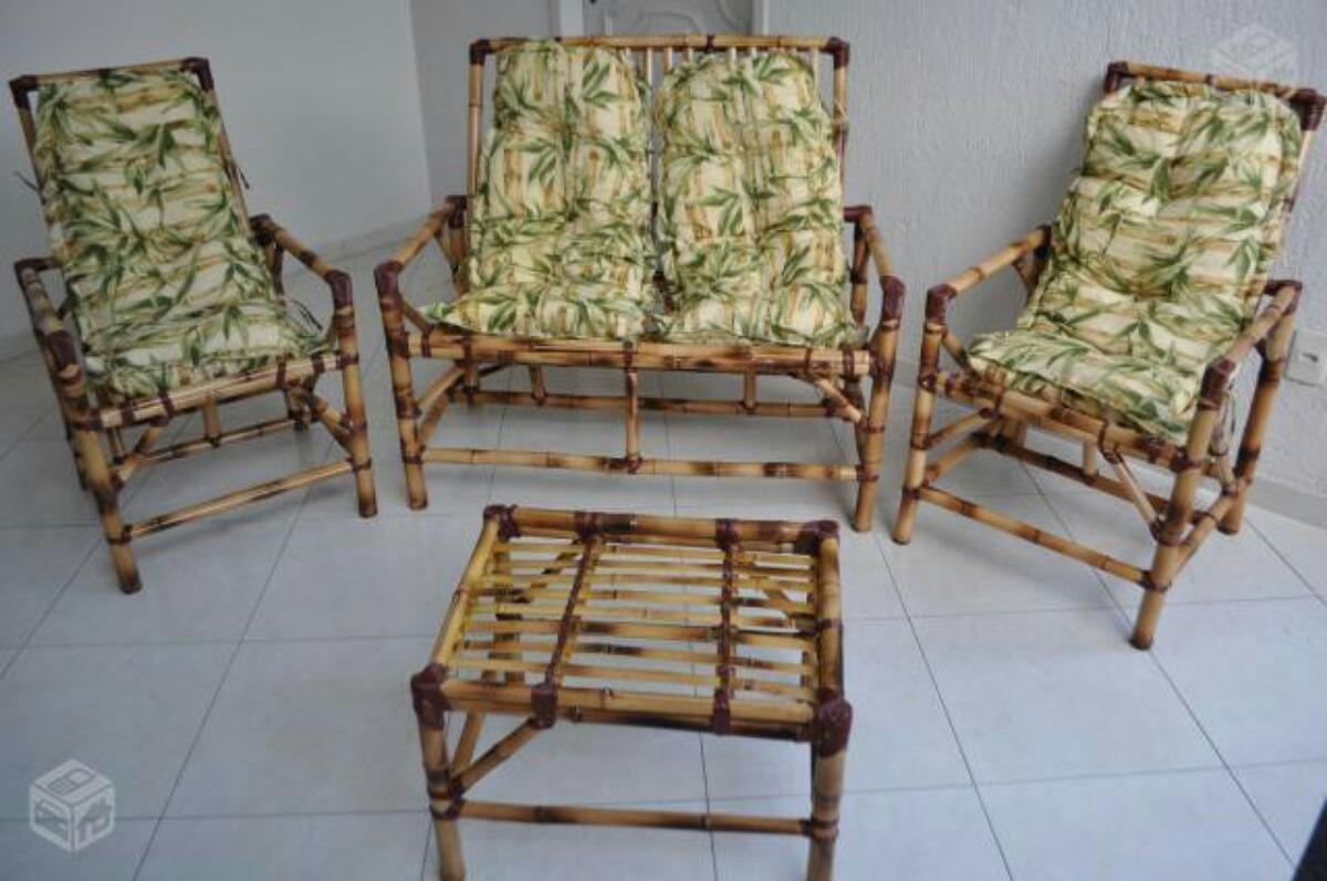 Jogo Bambu / Vime Para Área Externa / Sacada / Varanda R$ 599 00 no  #634630 1200 797