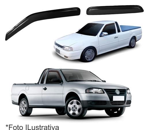 Jogo Calha Defletor Chuva Saveiro G2 G3 E G4 98-09 Original