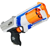 Lançador De Dardos Nerf Elite Strongarm Branco A0710 Hasbro