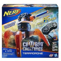 Lançador Nerf Elite Combat Creature Com Controle Hasbro
