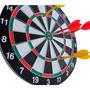 Jogo De Dardos - Alvo Dupla Face 37cm - 6 Dardos