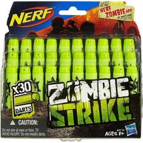 Refil Dardos Nerf Zombie Strike C/30 Dardos - Hasbro