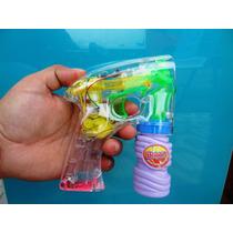 Pistola Bolinha Bolhas De Sabão A Pilhas Luz Sons Frete 9,00
