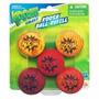 Acessório Novo Bolas Nerf Koosh Galaxy Red Refil Com 5 Bolas