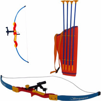 Kit Arco E Flecha C/ Infravermelho + Aljava + 4 Flechas