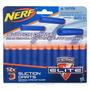 Acessório Novo Nerf Refil De Dardos Sucção Nerf C/12 Dardos