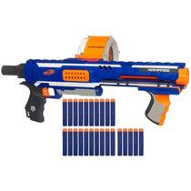 Lançador De Dardos Nerf N-strike Elite Rampage A0714 Hasbro
