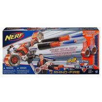Nerf Elite N Strike Rhino Fire Motorizado C/50 Dardos Hasbro