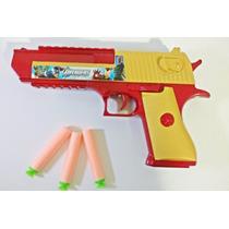 Desert Eagle Pistola De Dardos Revolver - Não É Airsoft .50