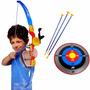Arco E Flecha Arqueiro Alvo De Pontuação 3 Flechas Brinquedo