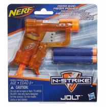 Lançador Nerf N-strike Elite - Jolt Color Laranja - Hasbro