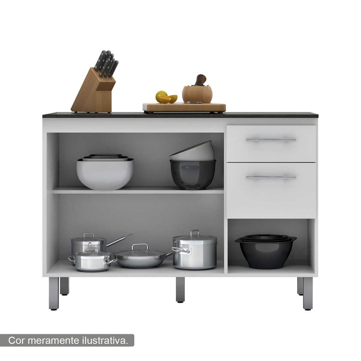 Jogo De Cozinha Mdf Modulado Balco Paneleiro Armario Aereo 120101 #674B2E 1200 1200