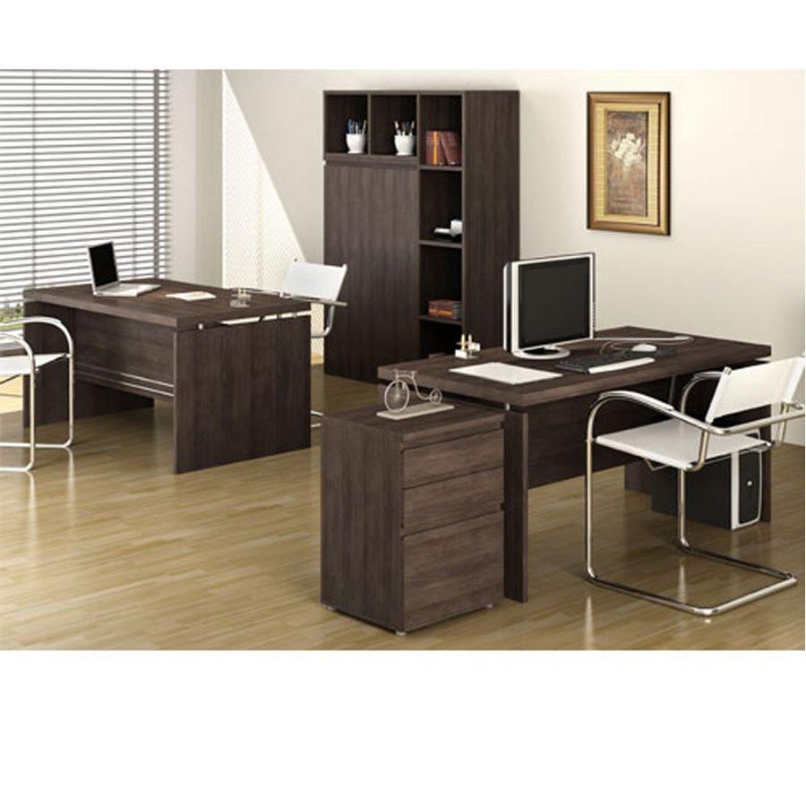 Adesivo De Geladeira No Mercado Livre ~ jogo de escritório armário arquivo mesas 5 peças gaveteiro
