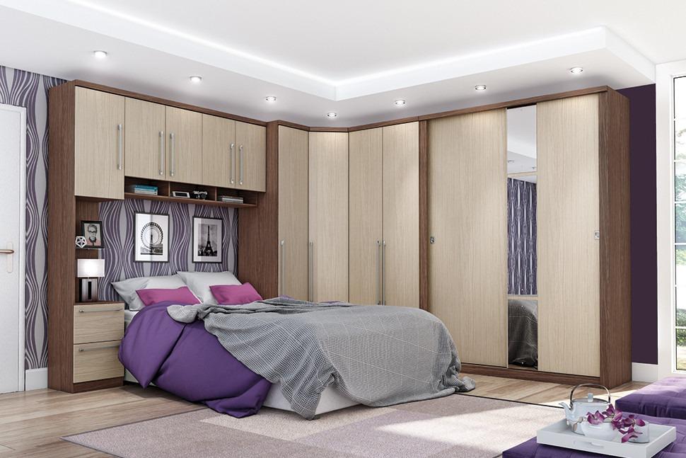 Jogo De Quarto Casal Completo Dormitório Henn Criative R  ~ Ver Jogo De Quarto Casal Completo