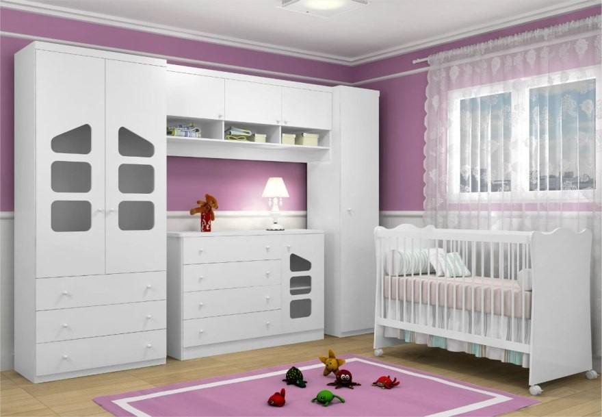 Jogo De Quarto Infantil Bebê 05 Peças Eloísa Phoenix Baby  ~ Ver Jogo De Quarto Infantil