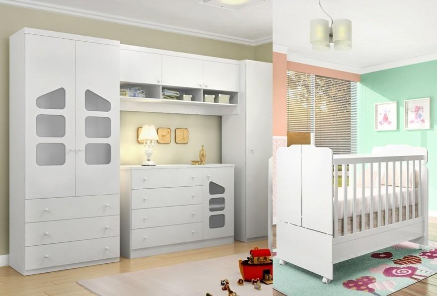 Jogo De Quarto Infantil Bebê 100% Mdf 15mm Tab Frete  ~ Ver Jogo De Quarto Infantil