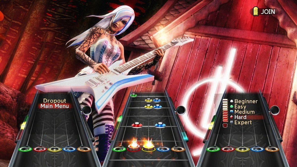 Jogo Guitar Hero Warriors of Rock Nintendo Wii