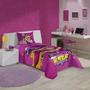 Jogo De Cama Estampado Barbie Super Princesa Solteiro 3pçs