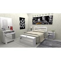 Conjunto Dormitório Casal Espelhado - M1 -