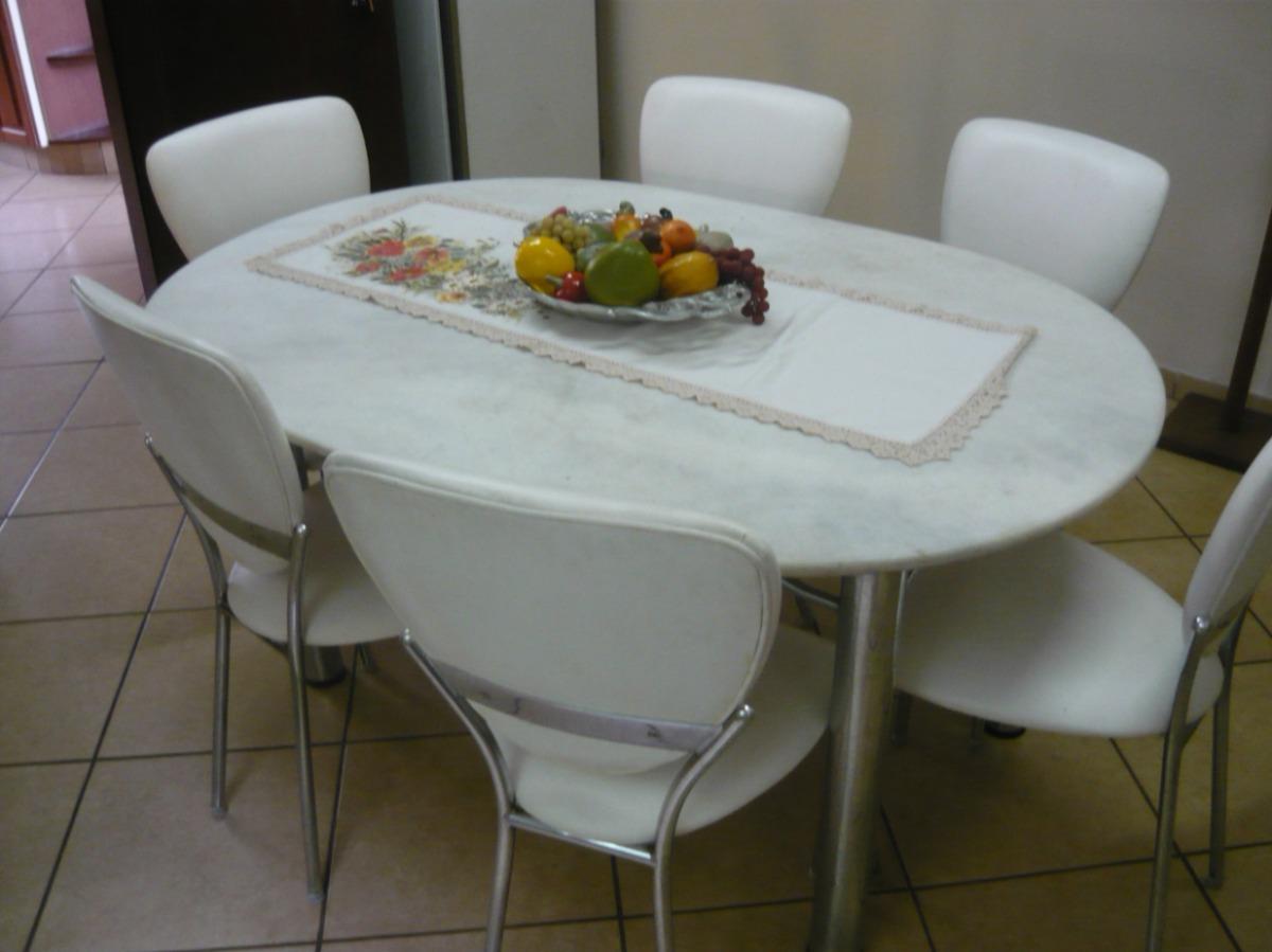 jogo sala de jantar mesa c6 cadeiras  cod09920669